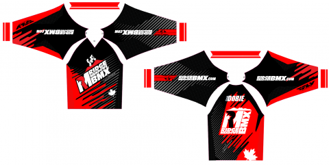 2014 Ridge Meadows BMX jersey